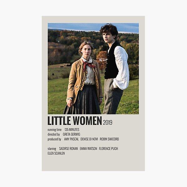 Little Women Movie Poster Photographic Print
