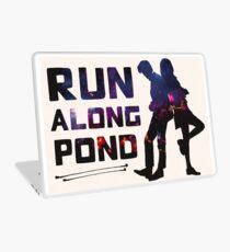 Run Along Pond Laptop Skin