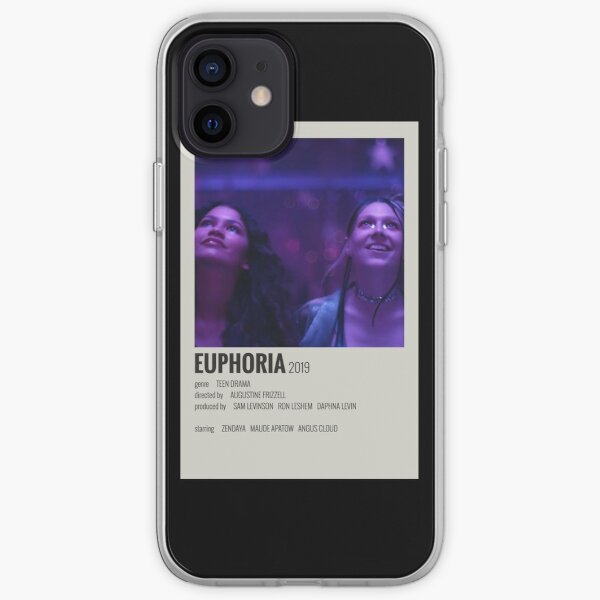 Affiche Euphoria Coque souple iPhone