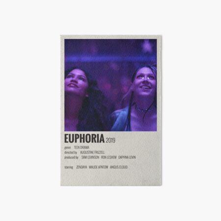 Affiche Euphoria Impression rigide