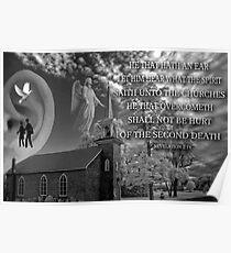☝ ☞ HE THAT HATH AN EAR (BIBLICAL)☝ ☞ Poster