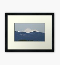 Skagit Valley View of Mount Baker Easton Glacier, USA Framed Print