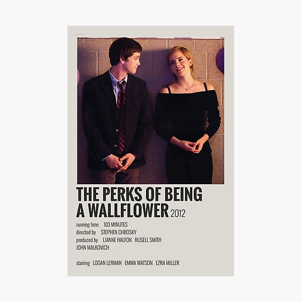 The Perks of Being a Wallflower Movie Poster Photographic Print