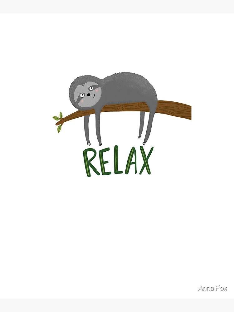 Sloth Relax by annatater