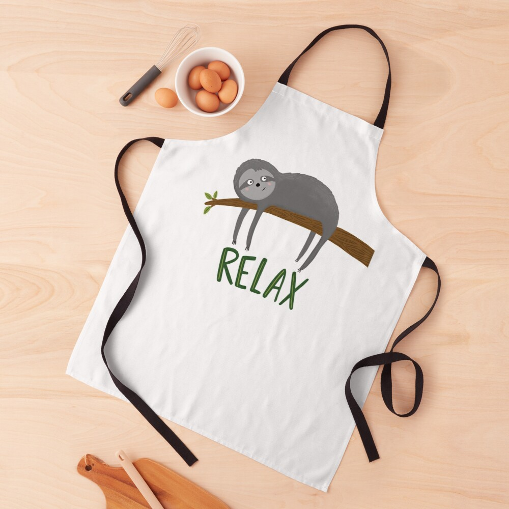 Sloth Relax Apron