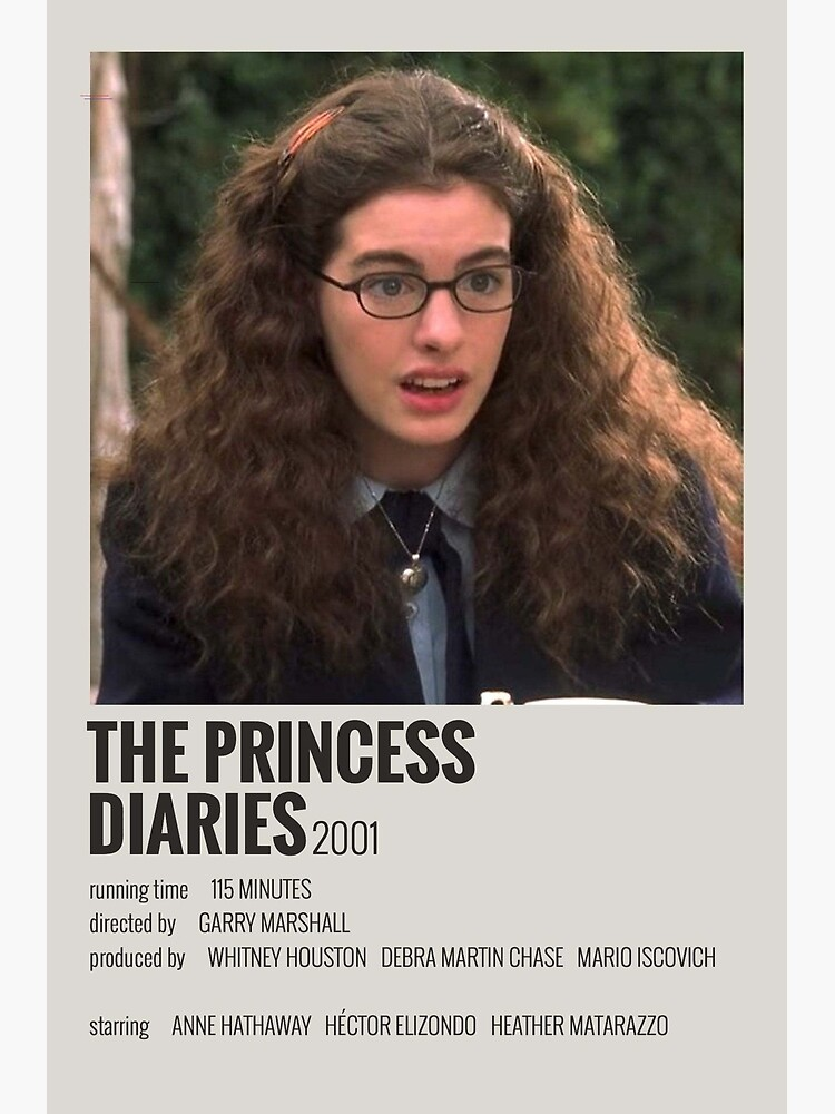 The Princess Diaries Movie Poster by immixrl