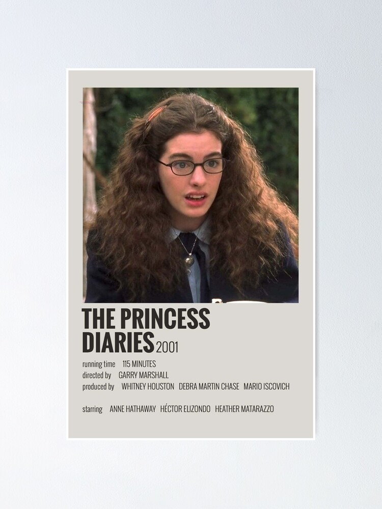 Alternate view of The Princess Diaries Movie Poster Poster
