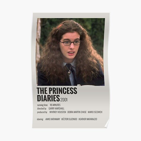 The Princess Diaries Movie Poster Poster