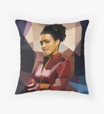 Martha fragged Throw Pillow