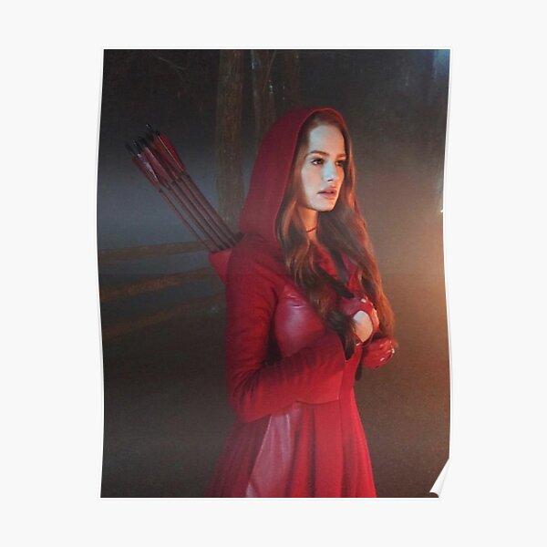 Little Red Cheryl Blossom Poster
