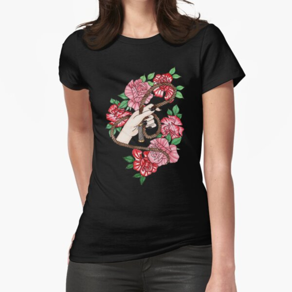 Kink in Bloom Fitted T-Shirt
