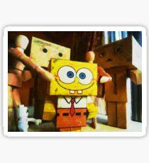 SpongeBob always loves the group hugs Sticker