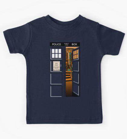 Bigger on the inside v.2 Kids Clothes