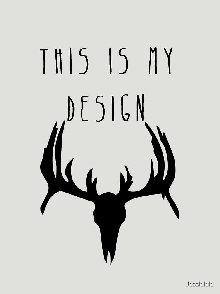 Hannibal - This Is My Design | Unisex T-Shirt