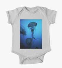 Portrait of a Jellyfish- Blue Kids Clothes