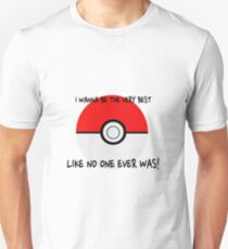 Pokemon Ball Theme Song  T-Shirt