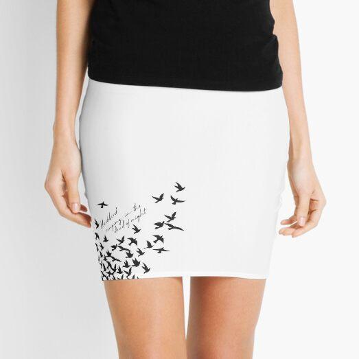 blackbird - the beatles Mini Skirt