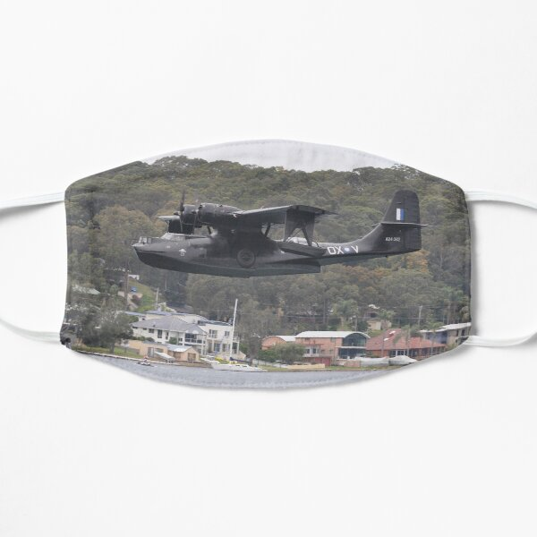 Catalina VH-PBY flypast, Rathmines, NSW 2016 Mask