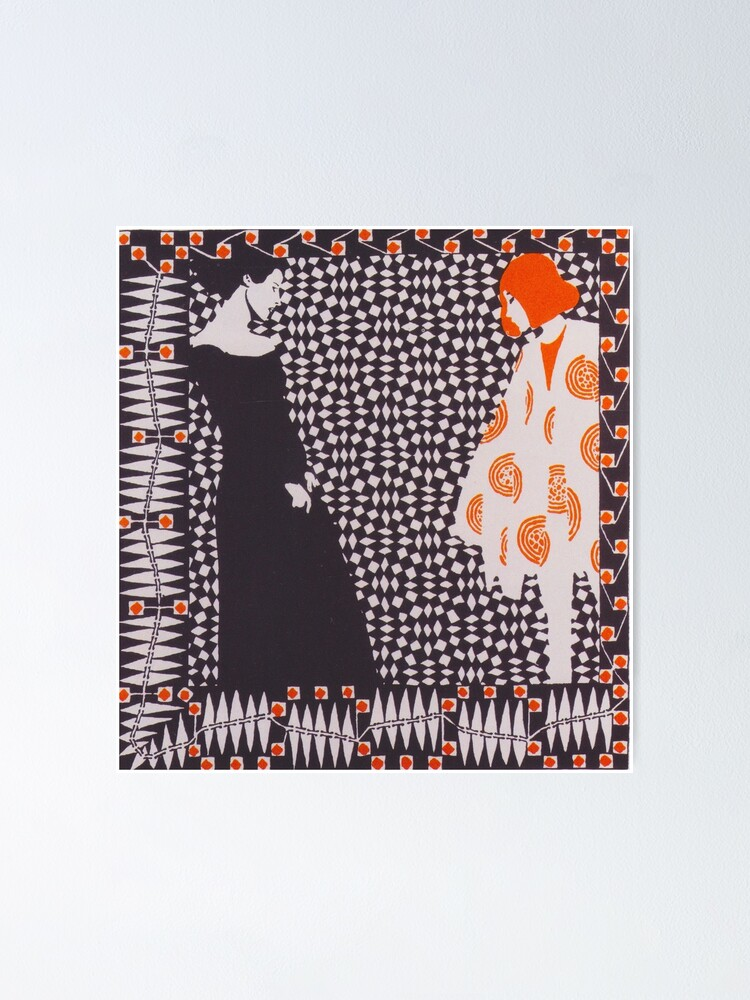 Alternate view of Early Spring by Koloman Moser, 1901 Poster