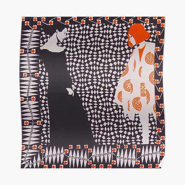 Early Spring by Koloman Moser, 1901 Poster