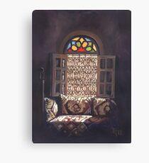 The Moroccan Window Canvas Print