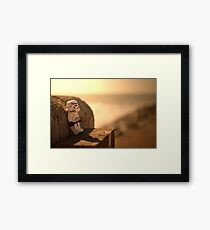Too far from home. Framed Print