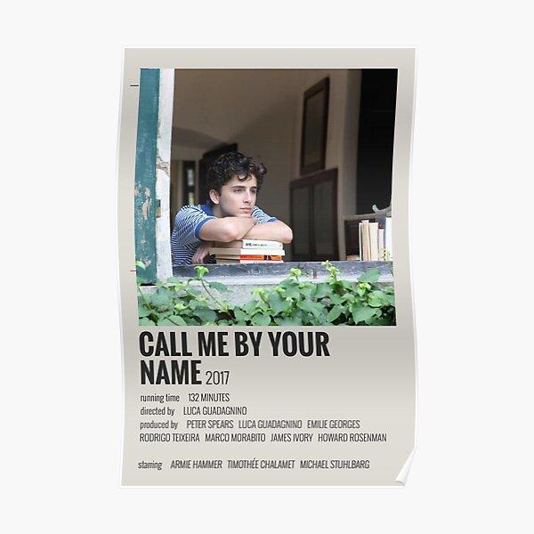 Cartel de la película Llámame por tu nombre Póster