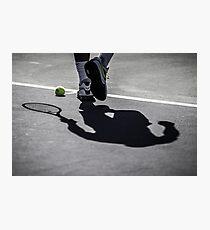 Rafa's Shadow Photographic Print
