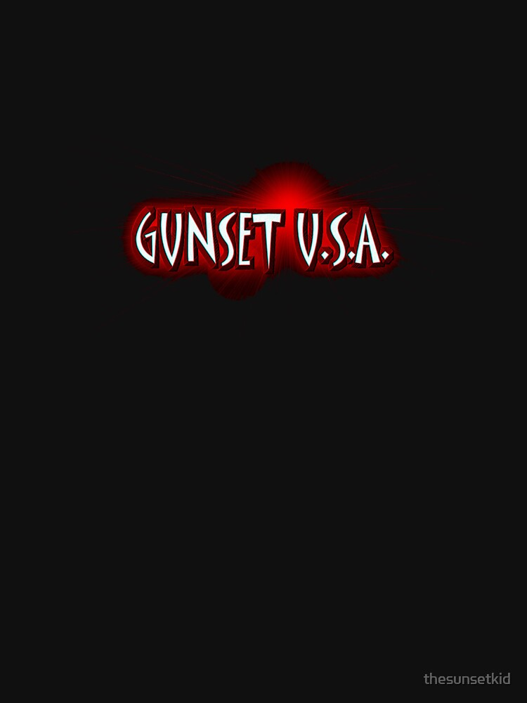 GUNSET U.S.A. by thesunsetkid