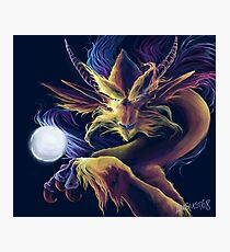 Astral Dragon Photographic Print