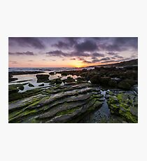A Crystal Cove Sunset Photographic Print