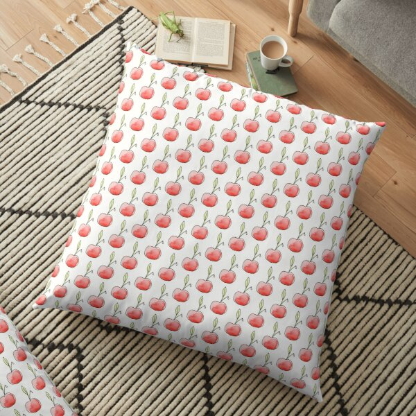 Cherry Icon Floor Pillow