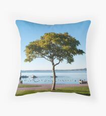 lakefront Throw Pillow