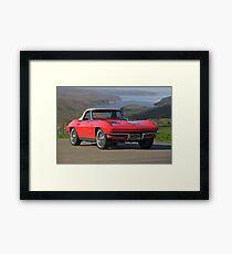 1963 Chevrolet Corvette Framed Print