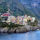 Manarola Evening by Harry Oldmeadow