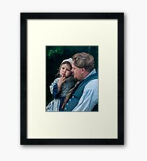The Pout! Framed Print