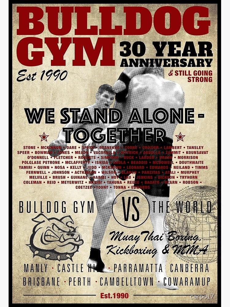 Bulldog Gym 30 years by carpo17