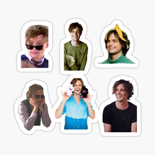 Matthew Gray Gubler Design Sticker