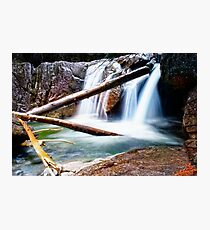 At the Foot of the Falls Photographic Print