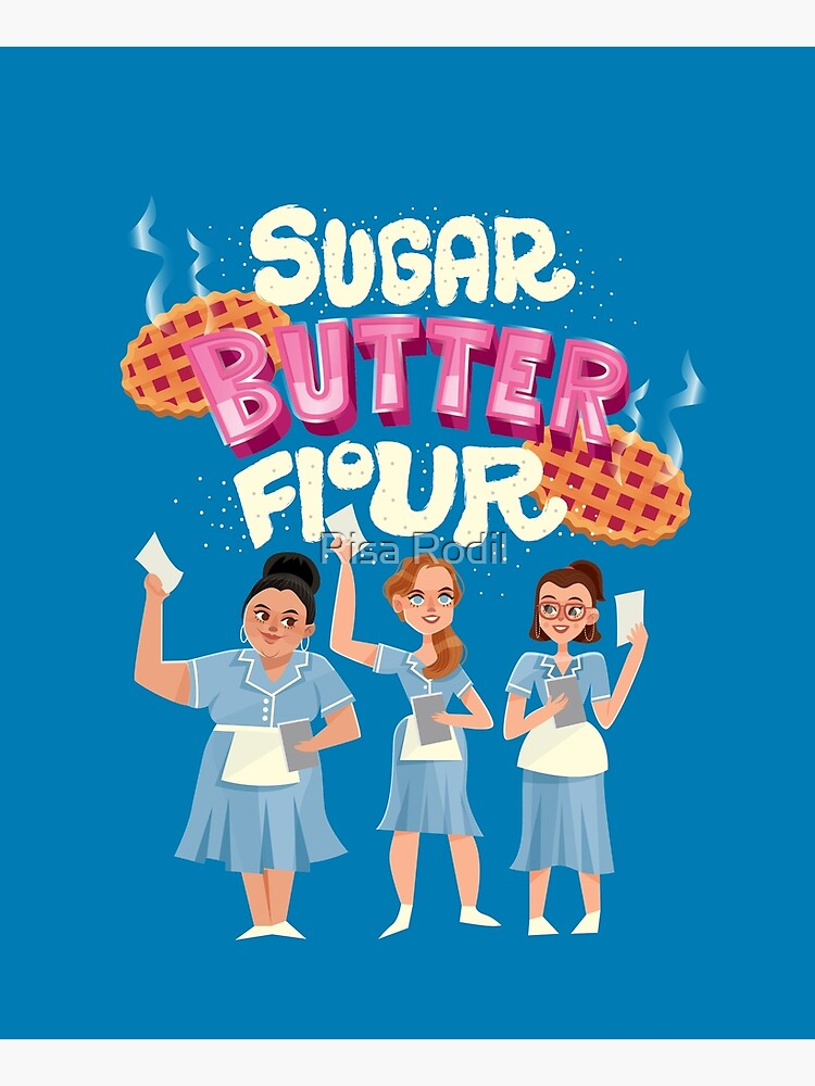 Sugar Butter Flour by risarodil