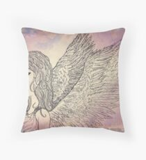 The Picture of Innocence Throw Pillow
