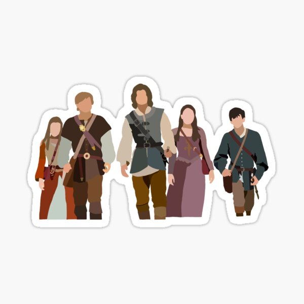 Narnia Characters Sticker