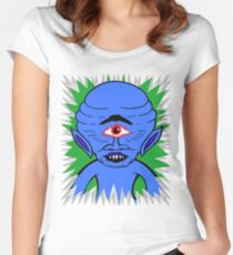 Space Cyclops Women's Fitted Scoop T-Shirt
