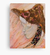 Child with Hat Canvas Print
