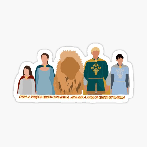 Kings and Queens of Narnia Sticker