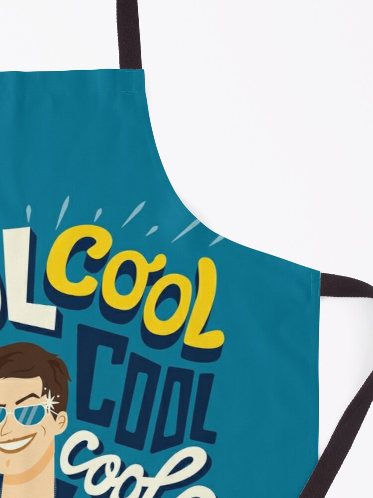 Alternate view of Cool cool cool Apron