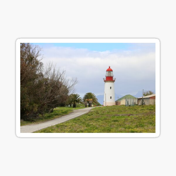 Robben Island Lighthouse, Cape town South Africa  Glossy Sticker