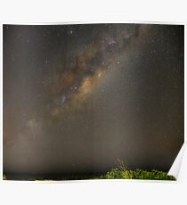 Milky Way Panorama Poster