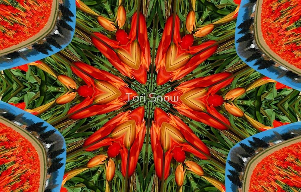 Tulip Fractal by Tori Snow