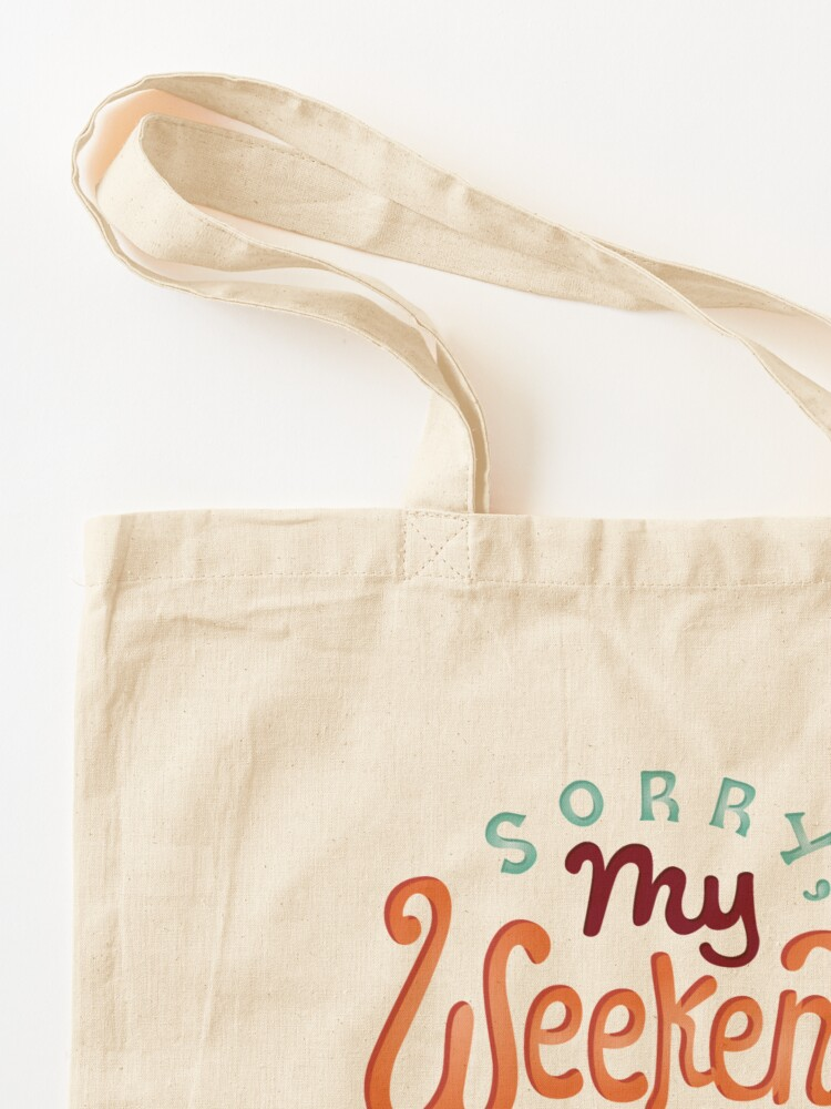 Alternate view of I'm booked Tote Bag